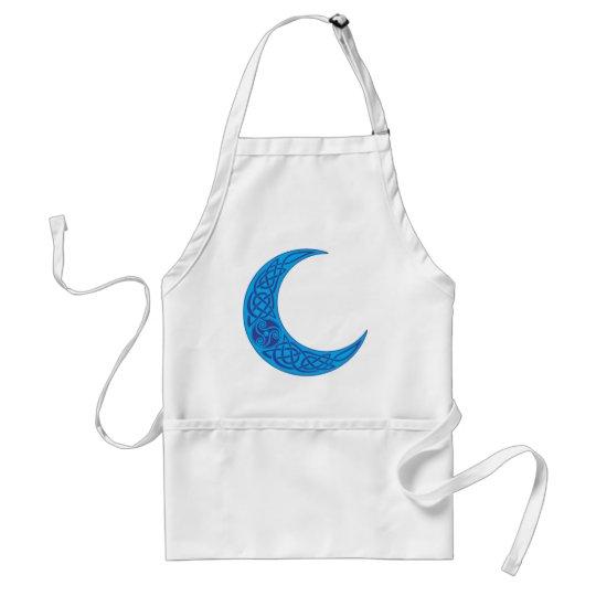 Celtic Blue Moon Adult Apron