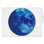 Celtic Blue Moon Card