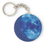 Celtic Blue Moon Keychain