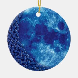 Celtic Blue Moon Ornament