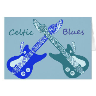 Celtic Blues Card