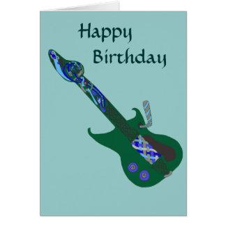 Celtic Blues Guitar Cards