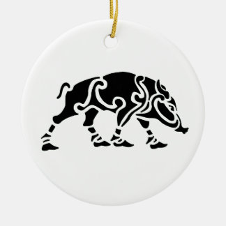 Celtic Boar Ornament