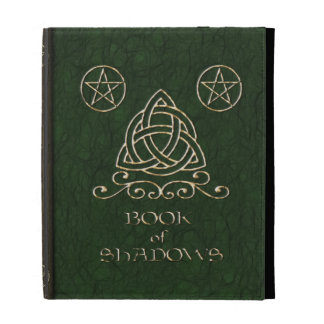Celtic Book of Shadows iPad case