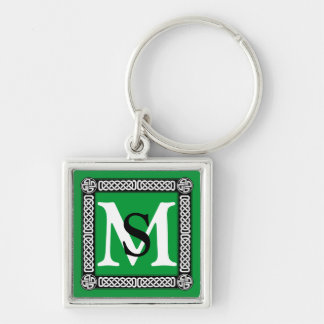 Celtic border on any color keychain