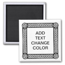 Celtic border on any color
