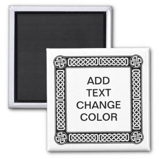 Celtic border on any color magnet