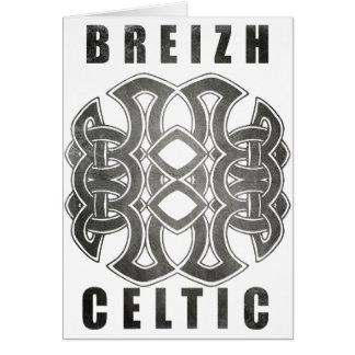Celtic Breizh Brittany Card