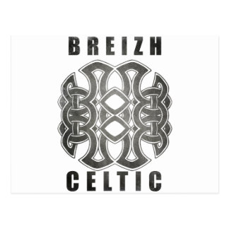 Celtic Breizh Brittany Postcard