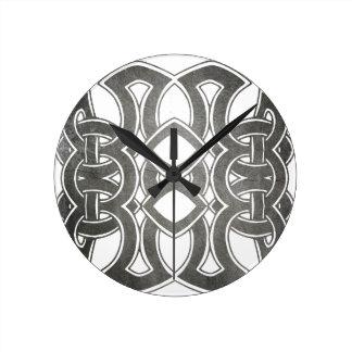 Celtic Breizh Brittany Round Clock