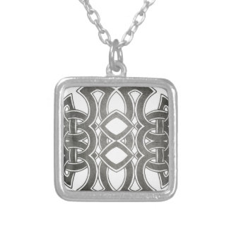 Celtic Breizh Brittany Silver Plated Necklace