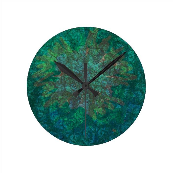 Celtic Bright Round Clock