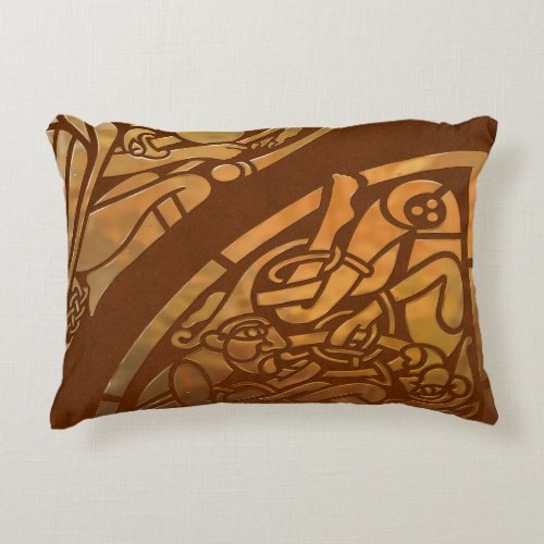 Celtic Brown Suade Tribal Art