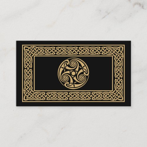 Celtic Business Card