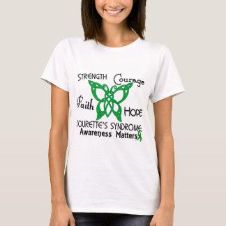 Celtic Butterfly 3 Tourette's Syndrome T-Shirt