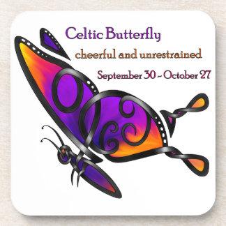 Celtic Butterfly Beverage Coaster