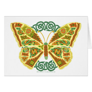 Celtic Butterfly Card