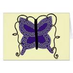 Celtic Butterfly card