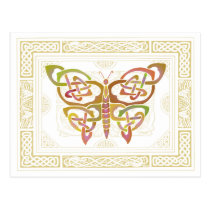 Celtic Butterfly II Post Cards
