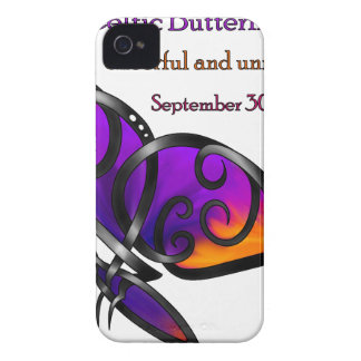 Celtic Butterfly iPhone 4 Cover