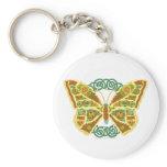 Celtic Butterfly Keychain