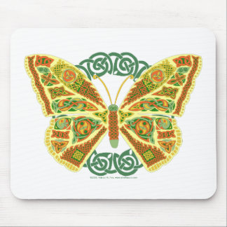 Celtic Butterfly Mouse Pad