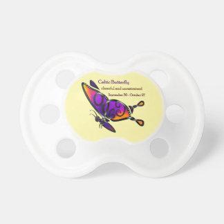 Celtic Butterfly Pacifier