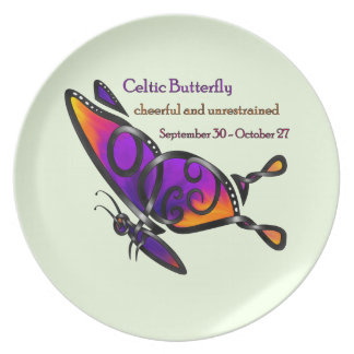 Celtic Butterfly Plate