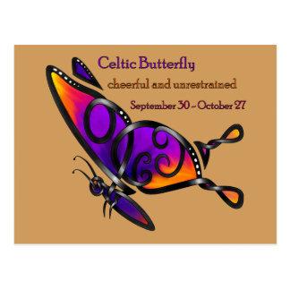 Celtic Butterfly Postcard
