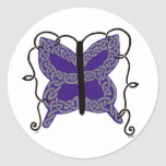 Celtic Butterfly stickers