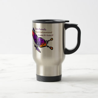 Celtic Butterfly Travel Mug