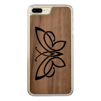 celtic butterfly walnut slim iphone 6 carved iPhone 7 plus case
