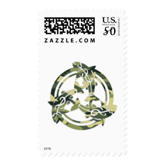 Celtic Cammo Fish Postage