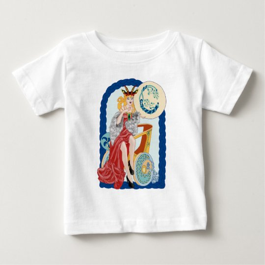 Celtic Capricorn Baby T-Shirt