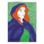 Celtic Card, Bridget & Knotwork Design Card