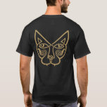 Celtic Cat by Bannigan Artworks T-Shirt