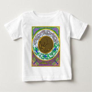 celtic cat dreams baby T-Shirt