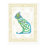 Celtic Cat Post Cards
