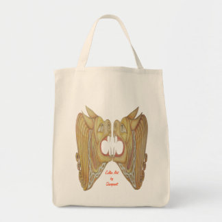 Celtic Cats Grocery Tote Bag