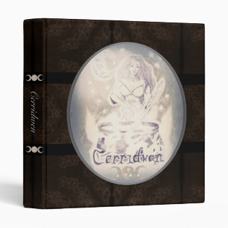 Celtic Cerridwen & The Cauldron of Knowledge BOS S Binder