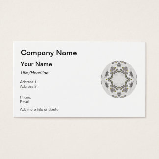Celtic Chainlink Kaleidoscope Mandala Business Card