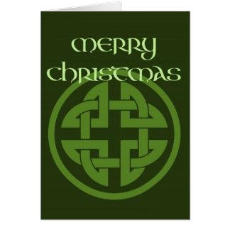Celtic Christmas Blessing Card