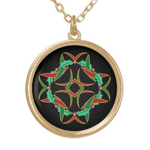 Celtic Christmas Holly Wreath