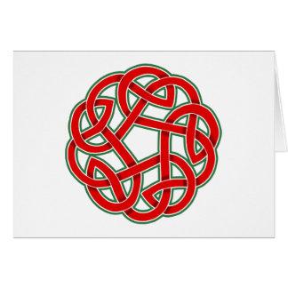 Celtic Christmas Knot Card