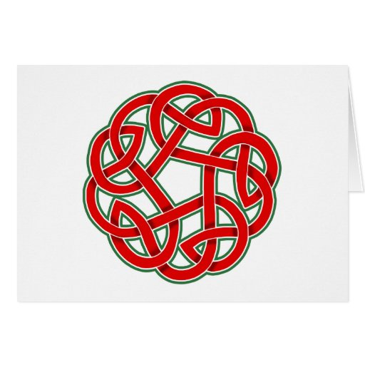 Celtic Christmas Knot Greeting Cards
