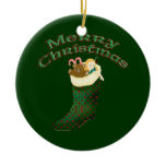 Celtic Christmas Ornament - Merry Christmas