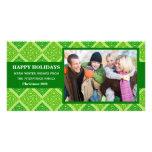 Celtic Christmas Photo Card