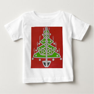 Celtic Christmas Tree Baby T-Shirt