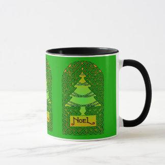 Celtic Christmas Tree Mug