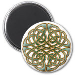 Celtic circle 2 inch round magnet